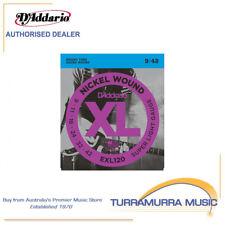 D'Addario EXL120 Super Light Electric Strings Single Set 9-42