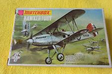 Matchbox 1/72 PK-1 1973 Hawker Fury Trasera Caja De La Ventana Completo Nos