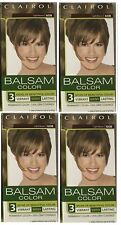 Clairol Balsam Hair Color Permanent  Dye 608 Light Brown New Lot of 4