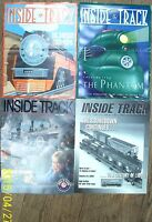 4 Issures Lionel INSIDE TRACK, very good condition, hardly opened