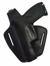Leder Pistolenholster Gürtel Holster Smith & Wesson MP 9 MP9L Pro MP40 LINKS