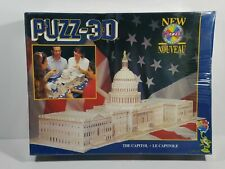 Wrebbit 3D Jigsaw Puzzle THE CAPITOL 690  Pieces Collectible Gift