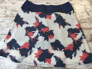 NWT PUMA Women's PWRSHAPE Floral Golf Skirt - Dark Denim