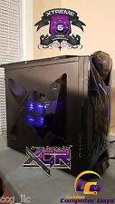 NZXT Custom Gaming PC Computer Desktop Quad Core 16GB Nvidia Graphics 1TB DVDRW
