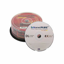 25 AONE dual layer MARCA non stampabile 8.5GB (8x) GOLD EDITION DVD + R DL