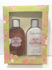 Crabtree Evelyn PEAR and PINK MAGNOLIA Gift Set - Body Wash & Body Lotion - NEW