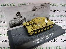 PZ20U Tank militaire 1/72 PANZER n°20 Pz Kpfw II  SdKfz 121 21 Pz div Lybie
