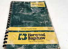 1980s ? HORWOOD BAGSHAW 2140 SELF PROPELLED  HEADER    Parts List