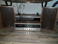 VIntage Panasonic 8-Track Receiver and Speakers, RE-8840 AM/FM Four-Channel