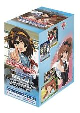 Weiss Schwarz Melancholy of Haruhi Suzumiya English Sealed Booster Box
