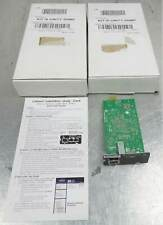 Lot of 2 Liebert IS-UNITY-SNMP UPS Management Adapter Network Interface Card