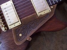 Hand Tooled/Carved Custom Leather Pickguard Gibson Les Paul LP