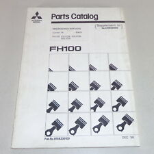 Parti Catalogo / Ricambi Mitsubishi Fh 100 Supplement/Supplemento Von 1988