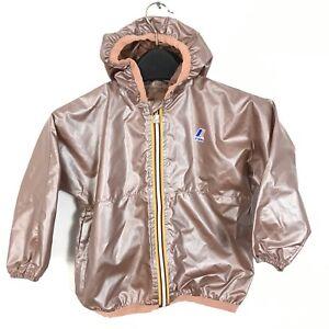 NWT K-WAY kids 3-10 Leon Half Zip Jacket Toddler Boy RAINCOAT 3Y 4Y 6Y 8Y 10Y