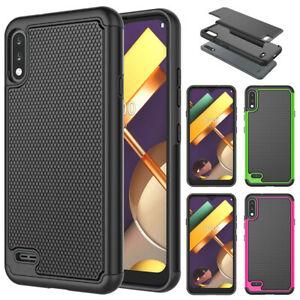 For LG K32 /K22 / K22 PLus Phone Case Shockproof Hybrid Rugged Rubber Hard Cover