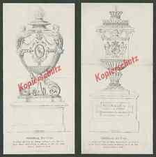 Altötting urna corazón Ludwig I. Maximilian II. escudo adel Baviera Wittelsbach 1868