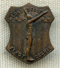 1916 - 1928 Lone Scout First Degree Badge