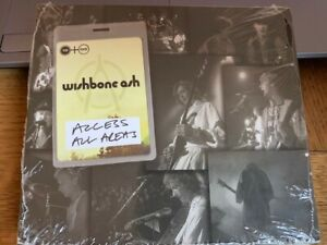 WISHBONE ASH - ACCESS ALL AREAS CD+DVD NEW!!!!