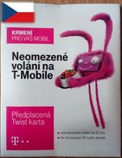 NEW! T-mobile Czech SIM CARD with 10 CZK money Internet micro/nano Prague