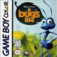 A Bug's Life - Nintendo GBC Game Boy Color AA