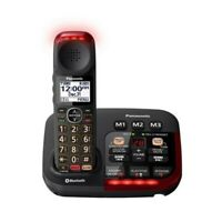 Panasonic Kx-Tgm430B Amplified Cordless Phone -B Digital Answering 1 Handset