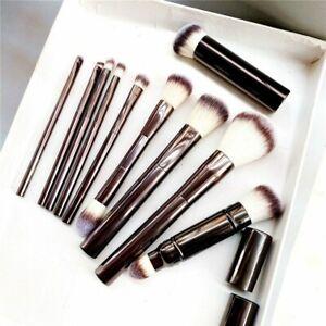 10-pcs Hourglass Makeup Brushes Set Powder Blush Eyeshadow Crease Concealer ...