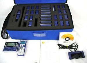 Smart Technologies Response XE LE PE Clicker Remotes with Receiver Case + CD Set