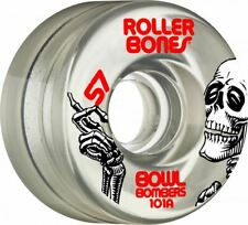 Roller Bones - Clear Bowl Bombers Skatepark Wheels - 8 pack