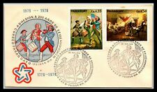 Gp Goldpath: Paraguay Cover 1975 First Day Cover _Cv371_P12