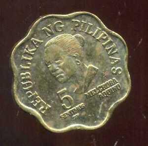 PHILIPPINES  5  sentimos  1982