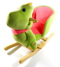 Plush Dinosaur Baby Rocking Chair Kids Toy Ride Rocker Plush Toddler