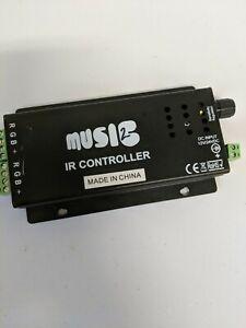 RGBZONE DC12-24V 24 Keys Iron Shell Wireless IR - NO REMOTE - Used