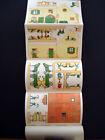 Vintage Pellerin Imagerie D'Epinal Small Farm Uncut Paper Model Book Inv1398