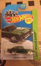 Hot Wheels 2014 Hw Workshop Aston Martin 1963 Db5 Error Variation No Wheels