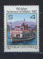 AUSTRIA 1987 MNH SC.1402 Shipping on Achensee