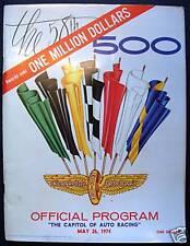 Indianapolis 500 programme officiel programme 1974 race