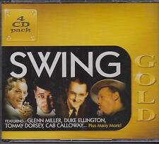 SWING GOLD - VARIOUS ARTISTS on 4 CD'S -  NEW -