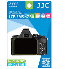 JJC LCP-EM5 ultra hard polycarbonate LCD Film Screen Protector Olympus OMD EM5