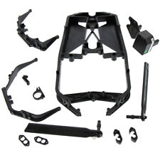 Losi LST 3XL-E 4WD 1/8:  Chassis, Braces, Receiver Box, Straps & Mounts