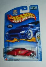 2003 Hot Wheels 2003 First Editions Swoop Coupe Red 13/42