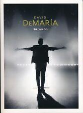David DeMaria 20 Anos (CD/DVD). Eck rechts oben leicht eingeknickt