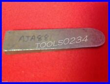 "Ajax Tools 881 Steel Stock Wedge 3"" Long x 1/4"" Height 3/4"" Width USA MADE"