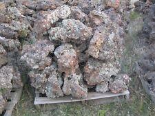 Palletts of Volocanic Rock