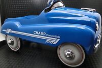 Pedal Car Vintage 1940 Ford Hot Rod Race Metal Collector >>READ FULL DESCRIPTION