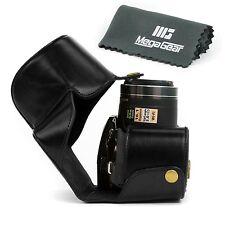 "'MegaGear ""Ever Ready Black Leather Camera Case for Nikon Coolpix P520 Nikon ..."