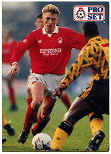 Scott Gemmill Nottingham Forest #306 Pro Set Football 1991-2 Trade Card (C364)