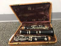 Selmer Paris Clarinet-Sold As Is