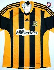 NWT HULL CITY 2013/14 L Home Adidas Soccer Jersey Football Shirt Tigers Top