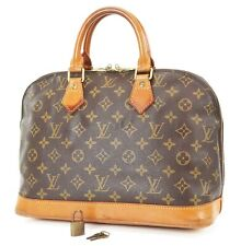 Authentic LOUIS VUITTON Alma Monogram Hand Bag Purse #37208