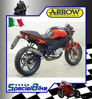CAGIVA RAPTOR 125 2004 > 2007 SCARICO ARROW STREET 2T ROUND SIL KEVLAR